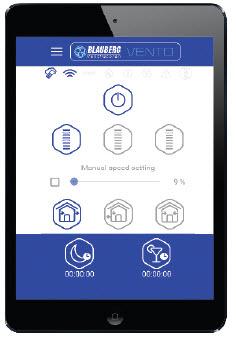 Управление VENTO-Expert-A50-1-W через Wi-Fi