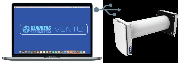 VENTO-Expert-DUO-A30-1-W подключение к ПК или ноутбуку